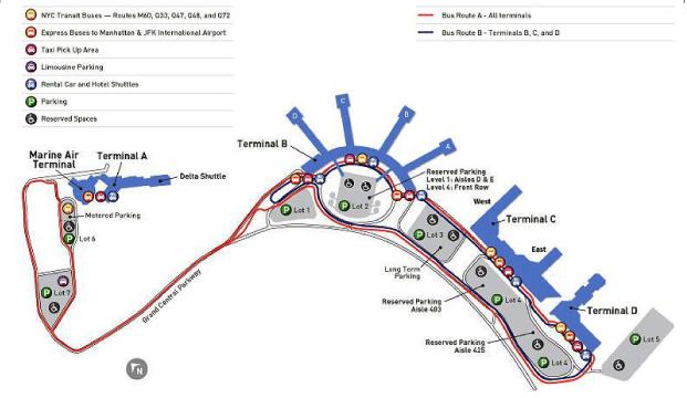 国际机场平面图